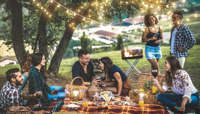 Friends having a picnic | DNAfit Blog