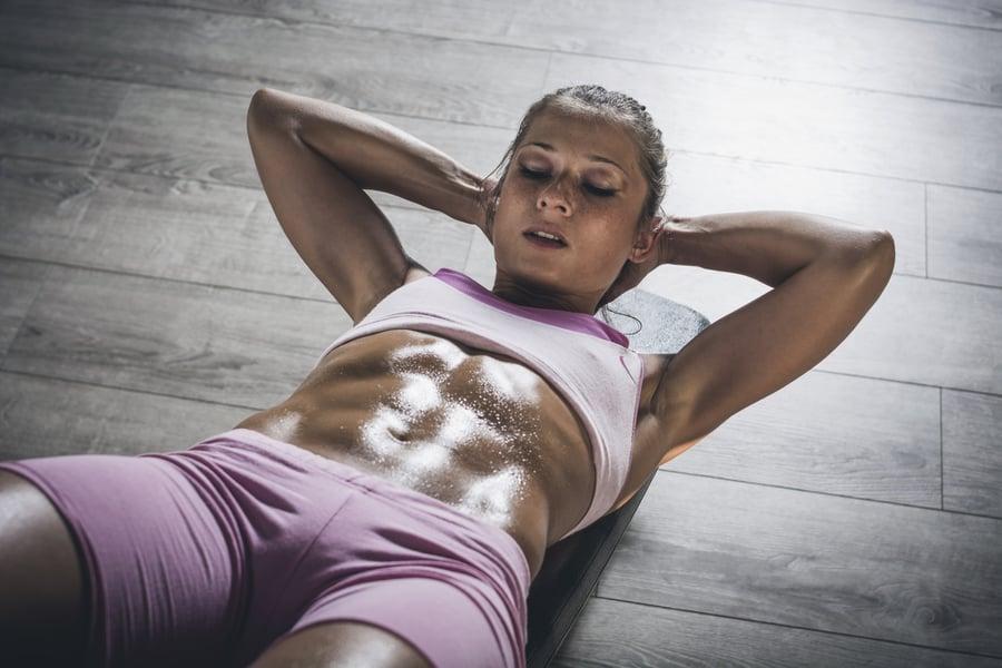 Woman sweating during exercise | DNAfit Blog