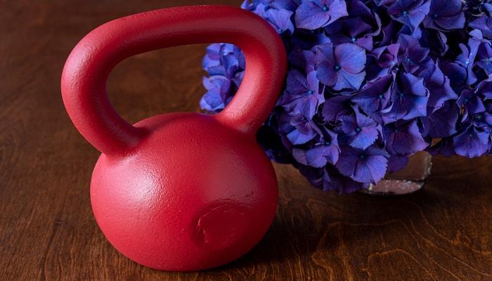 Red kettlebell | DNAfit Blog
