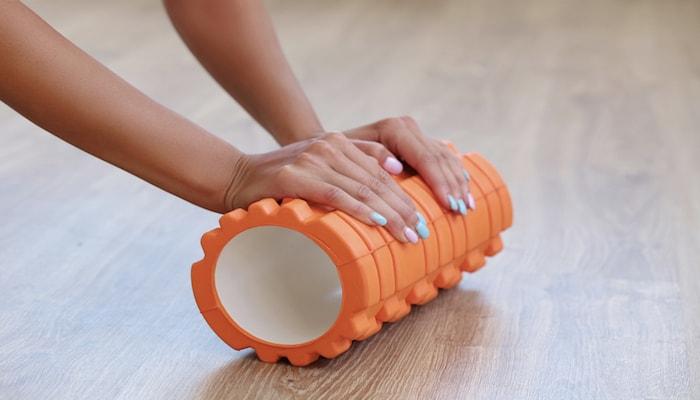 Orange foam roller | DNAfit Blog