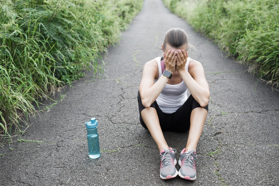 Woman tired from running   DNAfit Blog