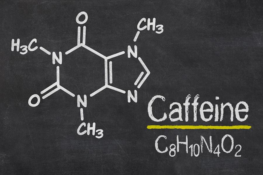 Chemical formula for Caffeine | DNAfit Blog