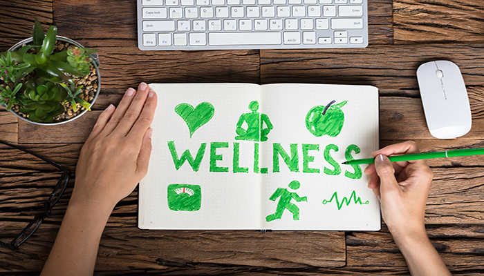 Wellness drawing on a book | DNAfit Blog
