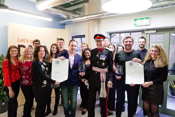 DNAfit receiving two Queen's awards