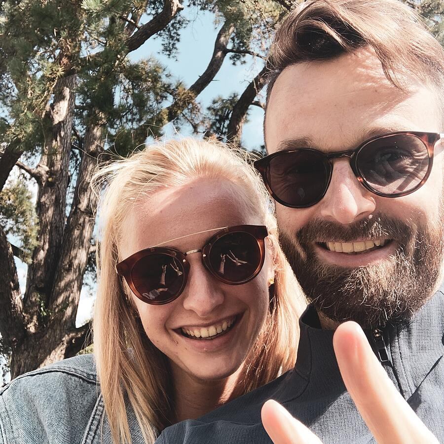 Simon and Tally Date Selfie | DNAfit Blog