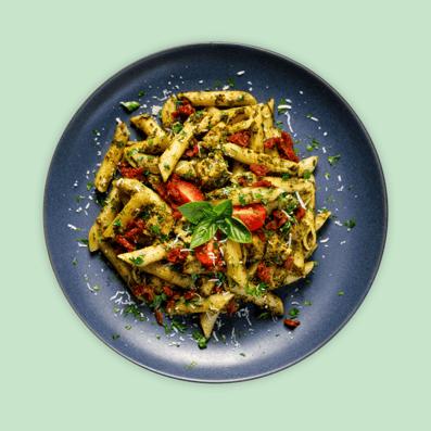 Pasta Chicken Pesto Salad