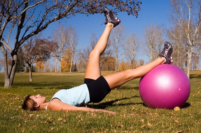 This exercise trains your core muscles to work together to stabilize your pelvis.