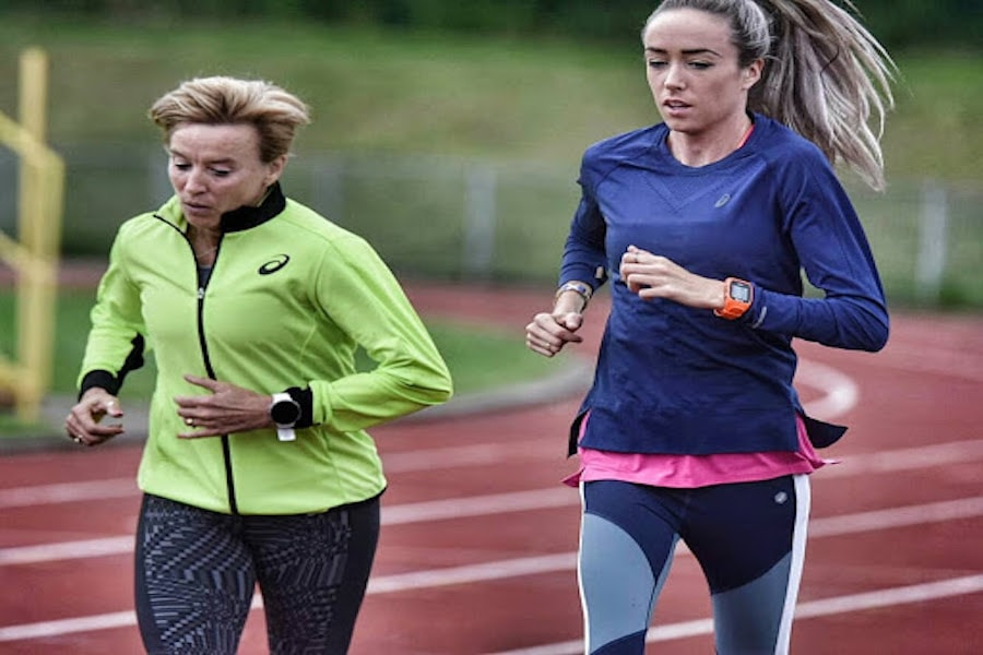 Liz and Eilish McColgan running track | DNAfit Blog